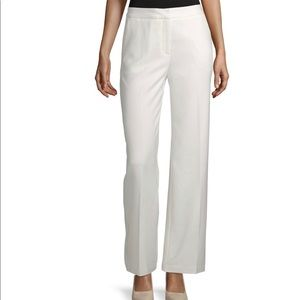 GUC Worthington Curvy Fit White Trouser Pants 4